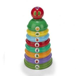 Rainbow Designs The World of The Very Hungry Caterpillar Stacking Cups Toy