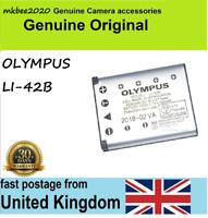 Original Genuine Olympus Li-42b Battery Fe20 Fe-220 Fe-330 360 U730 220 U700
