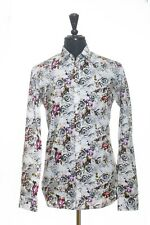 Ted Baker White Floral Shirt 16.5 5411