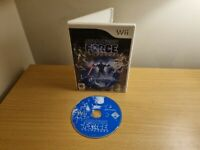NINTENDO WII - STAR WARS THE FORCE UNLEASHED - GOOD CONDITION - FREE P&P