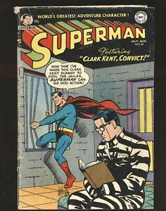 Superman # 83 G/VG Cond.