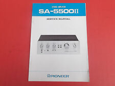 Pioneer sa-5500 II org. service INSTRUCTIONS MANUAL