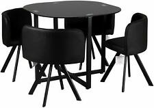 Space Saving Dining Table Cushioned Seats Chair Replacements Parts