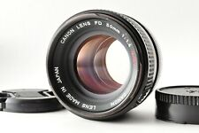 [EXCELLENT] Canon FD 50mm f1.4 s.s.c. ssc MF Standard Lens From JAPAN #35
