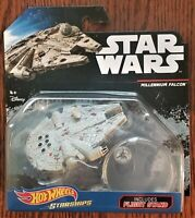 Disney Hot Wheels Highly Collectible Star Wars Starships Millennium Falcon NEW