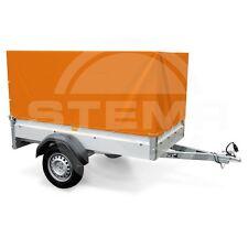 STEMA Aufbau Spriegel Plane Hochplane für Anhänger F 750 DBL 850 orange 0,80m