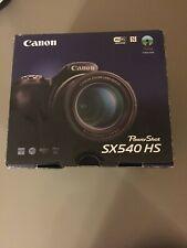 NUOVA MACCHINA FOTOGRAFICA CANON POWERSHOT SX540 HS CON NUOVA SCHEDA 16 GB
