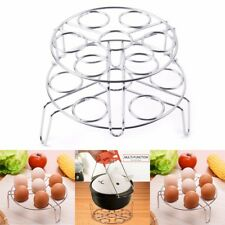2-Pack Stainless Egg Steamer Rack Trivet for Instant Pot Pressure Cooker Stand