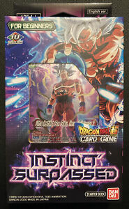 Sealed Instinct Surpassed Starter Deck SD11 English Dragon Ball Super Card Game