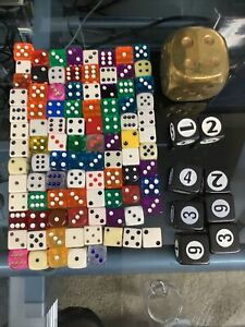 large  dice lot collection standard size gaming