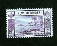 New Hebrides Stamps # 61 XF OG NH Scott Value $400.00