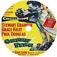 Green Fire _ Stewart Granger Grace Kelly Paul Douglas rare 1954