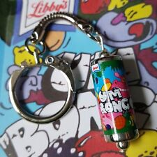 Cool UM BONGO CAN KEYRING novelty POP drink RETRO soda KITSCH mmied up dolly 80s