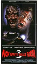 "NIGHTKILLER DVD Italian Horror aka ""Don't Open The Door 3"" Like ""Freddy Krueger"""