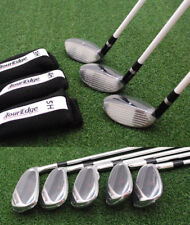 Tour Edge Golf Hot Launch Combo SET 3h4h5h 6-PW Stiff Flex - NEW