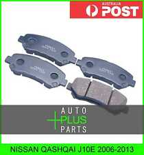 Fits NISSAN QASHQAI J10E Pad Kit, Disc Brake, Front