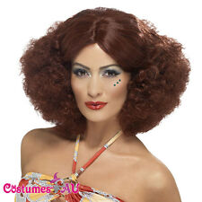 70s 1960s Disco Afro Costume Wig 60s Womens Hippie Hippy Costume Accessories