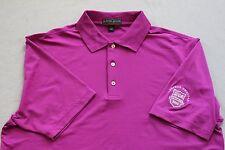 PETER MILLAR Summer Comfort Polo Golf Shirt - Western Amateur - Large