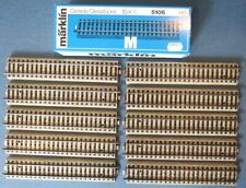 "Boxed set of 10 ""Marklin/5106/HO"" straight track sections"