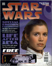 STAR WARS THE OFFICIAL MAGAZINE JUNE/JULY 1996 ISSUE NO.2 PRINCESS LEIA BOBA FET