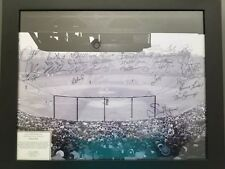 B/W Fenway Park Picture  MLB Baseball Stadium with autographs