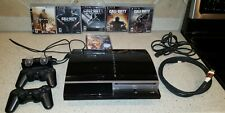 Playstation 3 PS3 Phat Fat 160 GB Console CECHP01 With Controllers