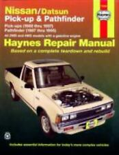 Haynes Manuals: Nissan/Datsun Pick-Up and Pathfinder : Pick-Up (1980 Thru 1997)