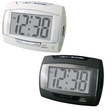 Champion Digital Bold Stylish Auto Light Sensor LCD Alarm Snooze Clock