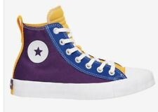 Converse UNT1TL3D Hi Boys' Grade School Size 5.5 Purple/Deep Emerald/Yellow