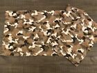 "Camo Camouflage 60"" x 16"" Valance 100% Cotton Curtain Bedroom Window #7A"
