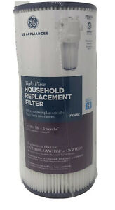 OEM GE High Flow Household Water Replacement Filter - FXHSC - New / Sealed