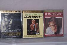 ALAN BENNETT 3 BBC RADIO AUDIO BOOKS 6 CASSETTES++