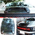 Fit Ford Ranger T6 Wildtrack Px Xl Xlt Ute Bonnet Scoop Hood Vent Wildtrak Gray