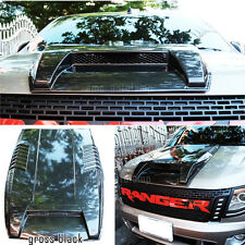 FIT FORD RANGER T6 WILDTRACK PX XL XLT UTE BONNET SCOOP HOOD VENT WILDTRAK GRAY.