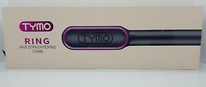 TYMO RING Hair Straightener Brush Hair Straightening Iron with Built-in Comb