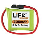 Drums HOBBICO Life Source Lithium Iron Phosphate Battery HCAM6402 6.6 V Rx