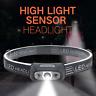 LED Head Light Torch USB*Rechargeable Waterproof Headlamp Flashlight Headlight