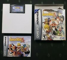 Summon Night: Swordcraft Story 2 -GBA- Game, Box, & Manual - Authentic & Tested