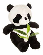 Gran sentado Panda Niños Oso De Peluche Peluche Suave Juguete de Peluche Blanca Negra De Regalo