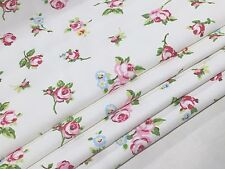 Made to Measure Roses/Rosebuds Roman Blind.  Size up to W130cm x D120cm