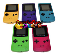 Nintendo Gameboy Color Console GBC 5 Colors to Choose From Dropdown Selection
