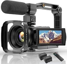 4K Video Camera HD Digital Camcorders Video Camera for YouTube Vlogging Camera,