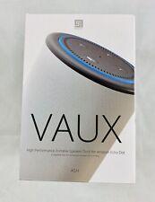 VAUX Cordless Home Speaker + Portable Battery for Amazon Echo Dot Gen 2 Gray/Ash