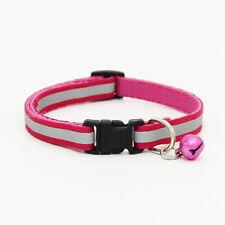 Ajustable Mascota Collar de Perro Noche Collar Reflectante Seguridad