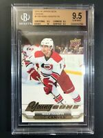 2015-16 Upper Deck Noah Hanifin Young Guns Canvas Rookie BGS 9.5 True Gem