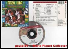 MISSA LUBA - 10 KENYAN FOLK MELODIES (CD) B.Mganga 1990