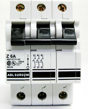 ALTECH ABL SURSUM 3ZU6 - 6A CIRCUIT BREAKER, 3P - NEW