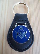 Crusader Knights Masonic Master Mason Glass Dome Freemason Keychain Key Ring