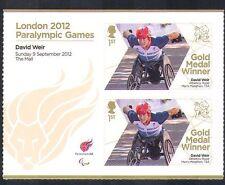 GB 2012 Juegos Paralímpicos/Olimpiadas/Deportes/ganadores de medalla de oro/David Weir 2 V + (n36331)