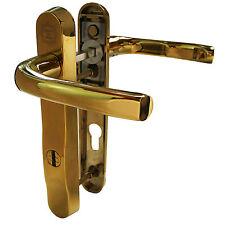 Mila ProSecure PAS 24 UPVC Door Handle 92MM / 122MM - 2* KITEMARK - GOLD DH4677